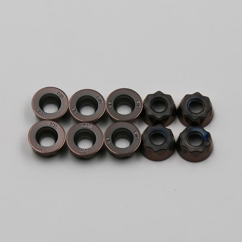 高硬度加工刀片RYMX 1004-MR TT2510
