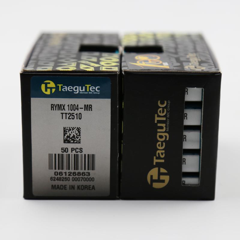 供应特固克高硬度加工刀片RYMX 1004-MR TT2510 数控精铣刀片
