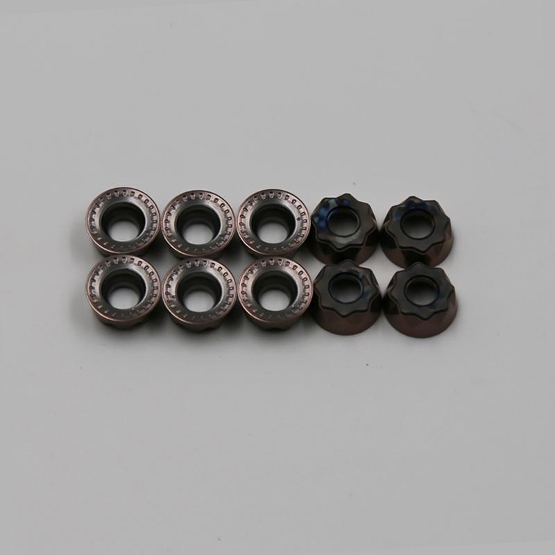 供应特固克数控加工刀片 RYMX 1004-M TT2510 高硬度特钢铣刀片