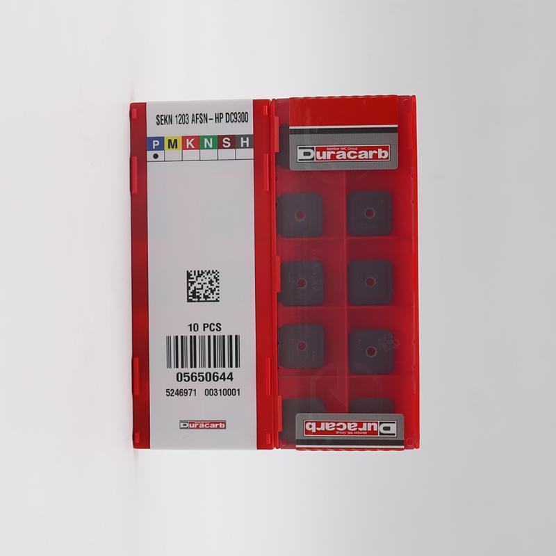 供应杜龙卡浦数控精铣刀粒 SEKN 1203 AFSN-HP 数控刀具批发